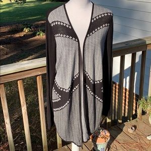 Chico's Open Waterfall Cardigan Chico's Sz 2/US 12